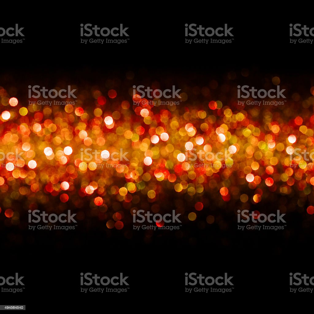 Lights Background, Abstract Seamless Blur Light Bokeh, Red Christmas Glow stock photo