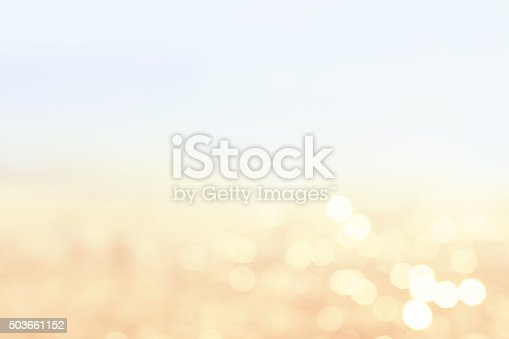 istock Lights blurred bokeh background in sunny summer day 503661152