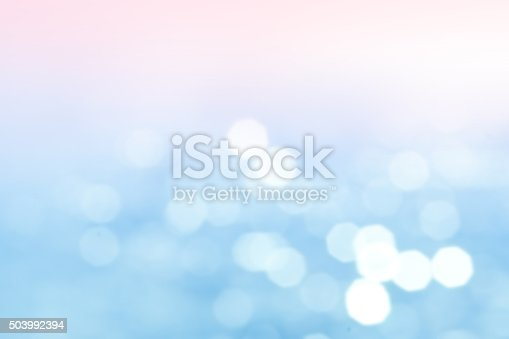 istock Lights blurred bokeh background in sunny summer day 503992394