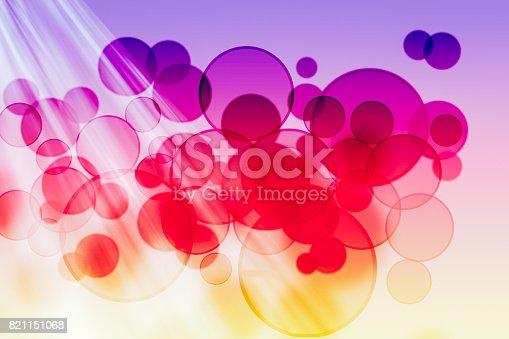 613518332 istock photo Lights bokeh dot background 821151068