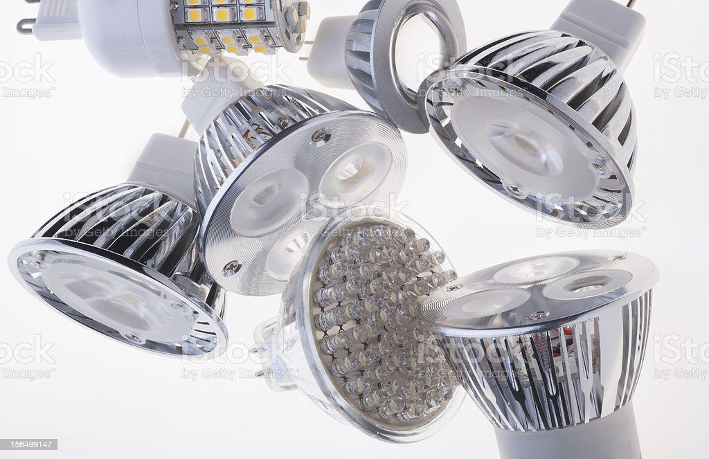 LED lights bulb royalty-free stock photo