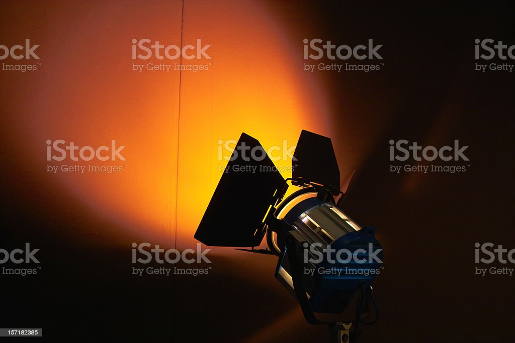 lights, camera, action 6 stock photo
