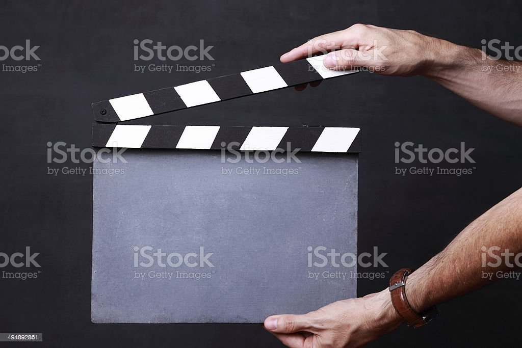 Lights, camera, action! royalty-free stock photo
