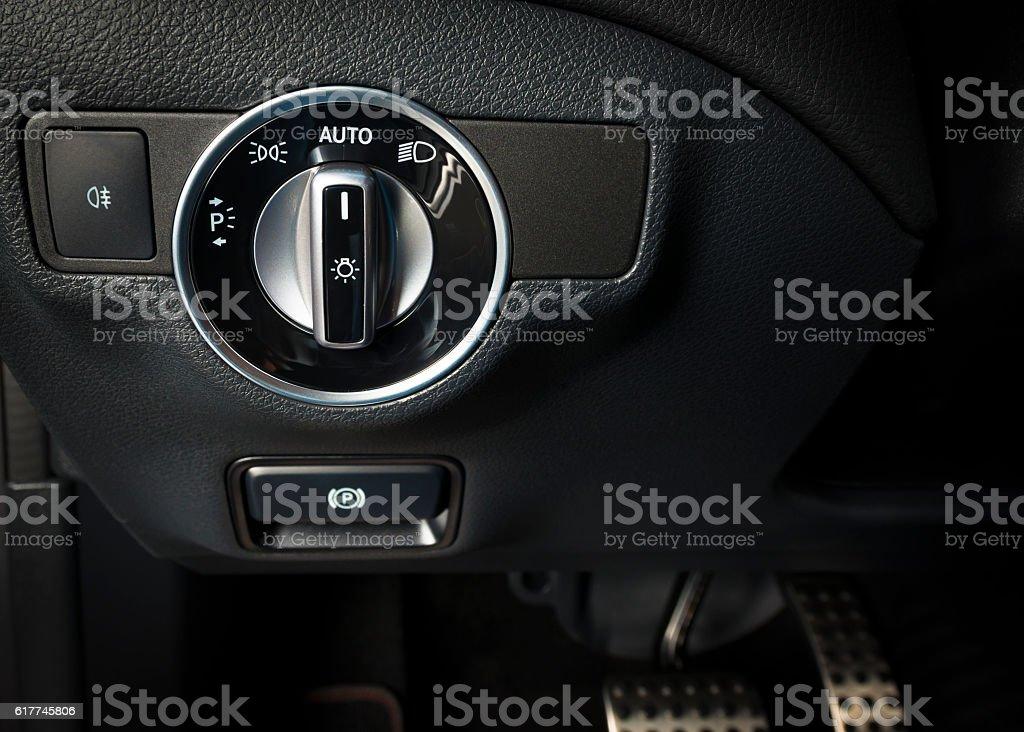 Lichter Kontrolle Schalter Im Auto Innen Stock-Fotografie und mehr ...