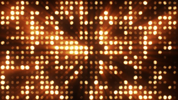 Lights flashing spotlight wall stage led blinking chromlech club concert dance disco dj matrix beam dmx fashion floodlight halogen headlamp jarag lamp night club party 3d illustration Lights flashing spotlight wall stage led blinking chromlech club concert dance disco dj matrix beam dmx fashion floodlight halogen headlamp jarag lamp night club party 3d illustration stage light stock pictures, royalty-free photos & images