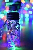Lights in bottles