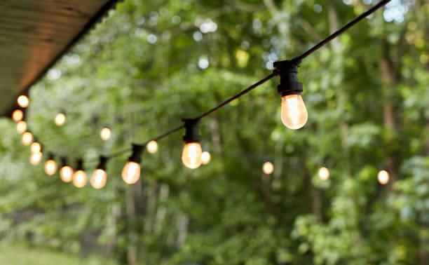 Lichter im Hinterhof – Foto
