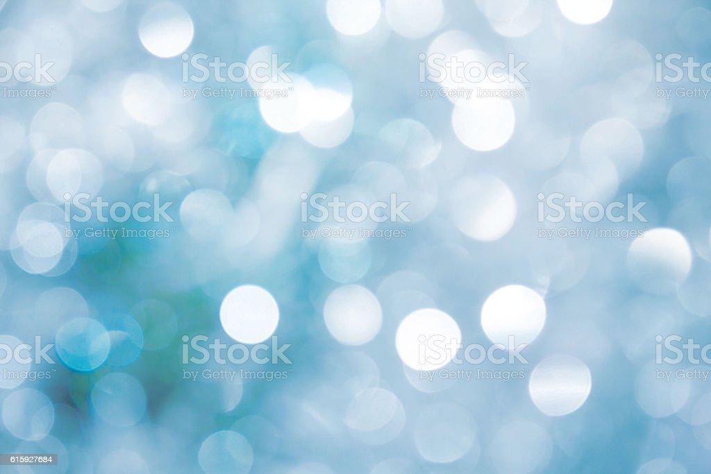 Lights on blue background. - Photo