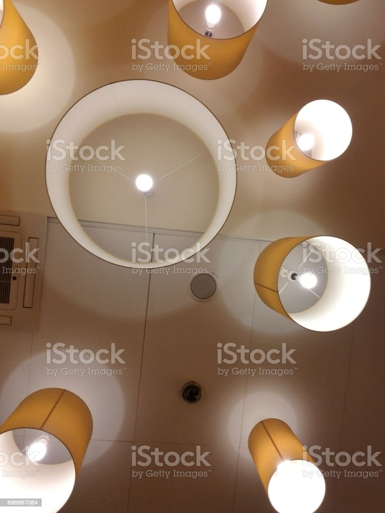 Lights Patters stock photo