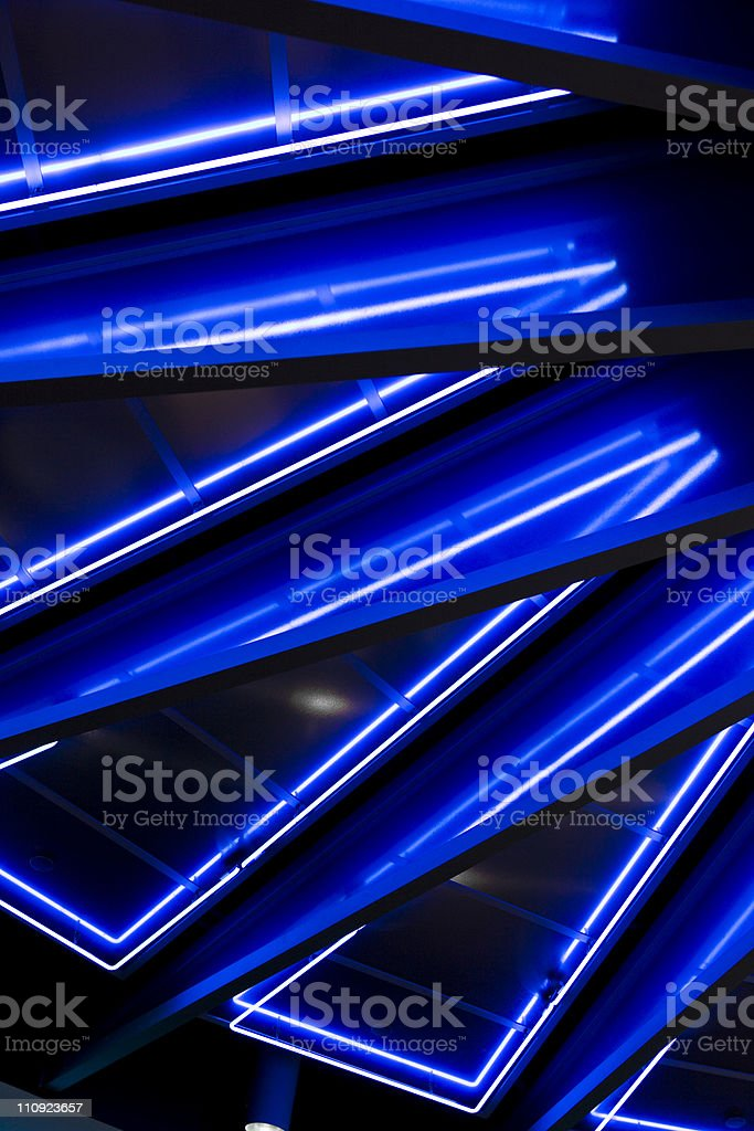 LED lights. royalty-free stock photo