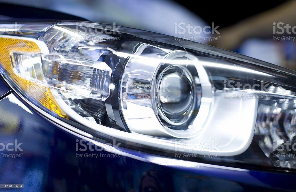 HID Lights stock photo