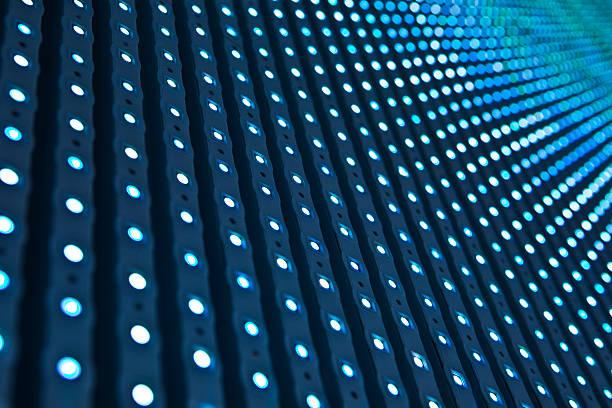 LED lights. stock photo