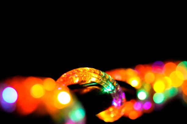 lights - lichtschlauch stock-fotos und bilder