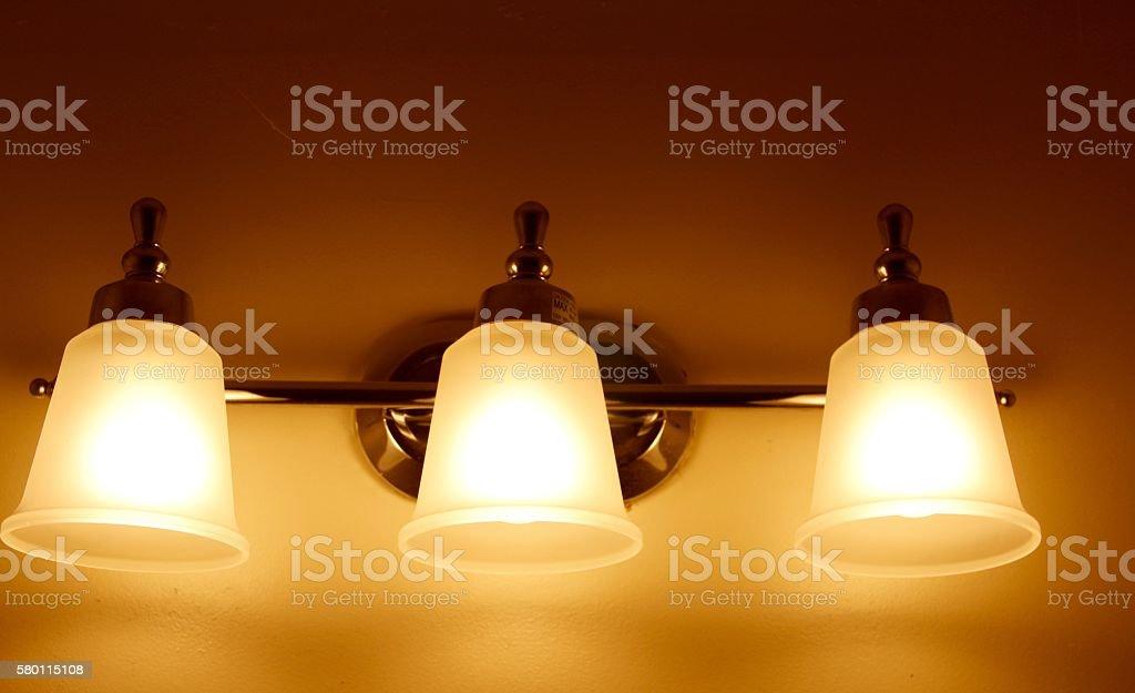 Lights Turned On stock photo