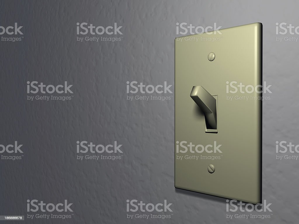 Light-switch royalty-free stock photo