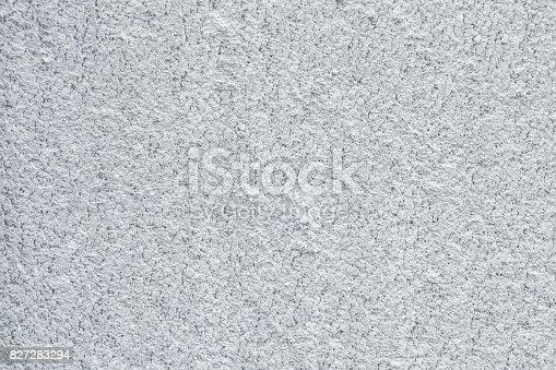 istock Lightweight foamed gypsum block texture close up 827283294