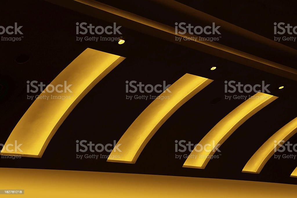 Ligiht Ceiling stock photo