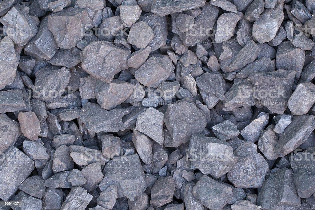 Lignite Coal royalty-free stock photo