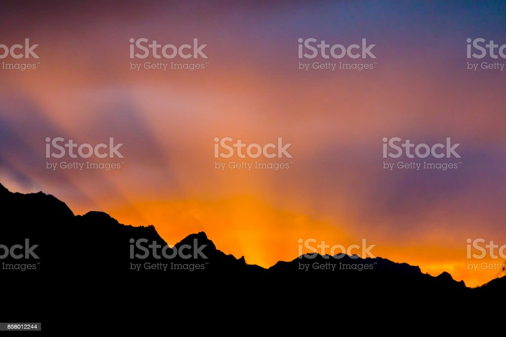 Lihue Rays stock photo