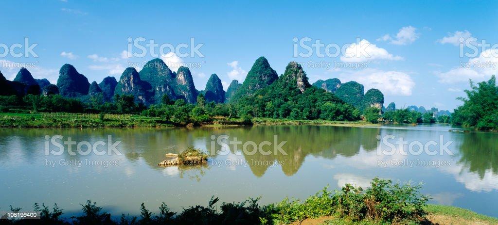 Lijiang River,Yangshuo,Guilin royalty-free stock photo
