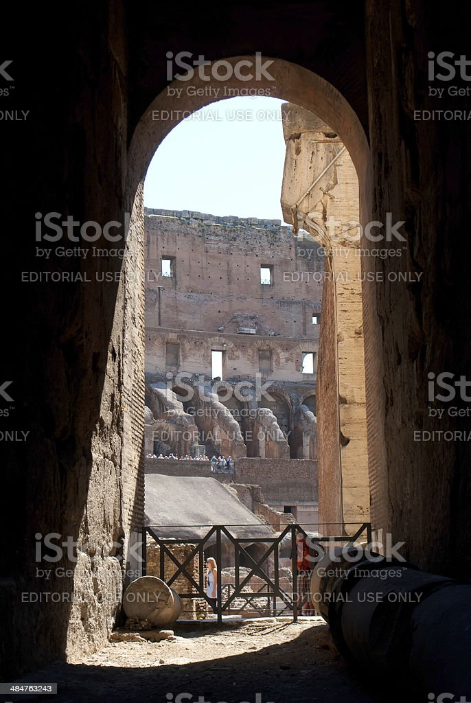 Like a Gladiator royalty-free stock photo