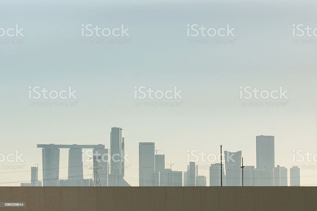 Like a modern Stonehenge royalty-free stock photo