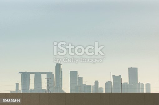 Like A Modern Stonehenge Stock Photo & More Pictures of Abu Dhabi