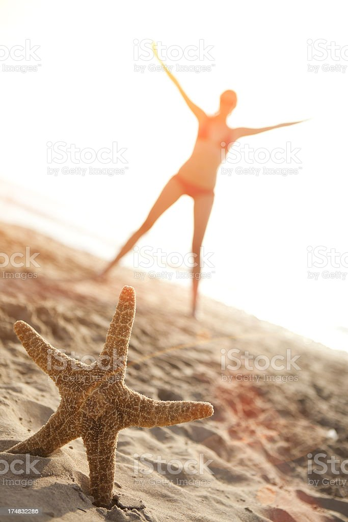 Like a star royalty-free stock photo