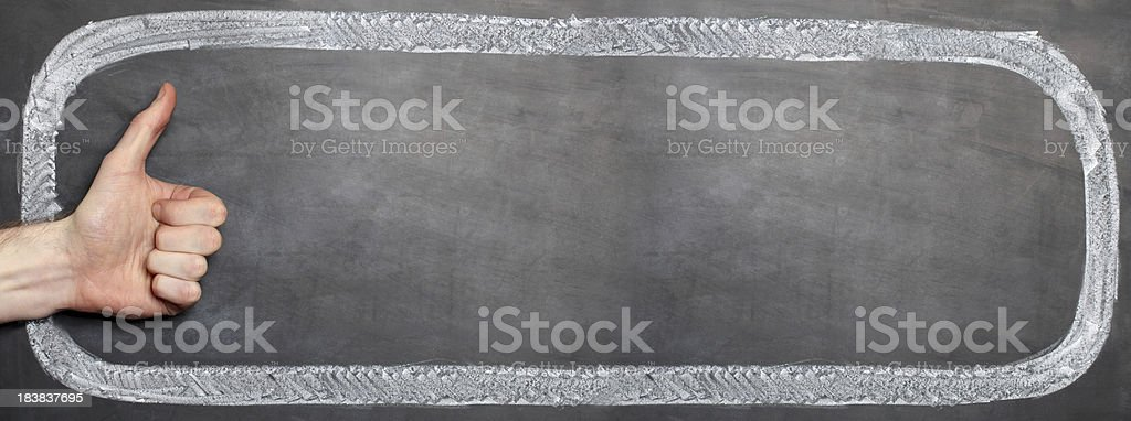 Like - extra long copy space royalty-free stock photo