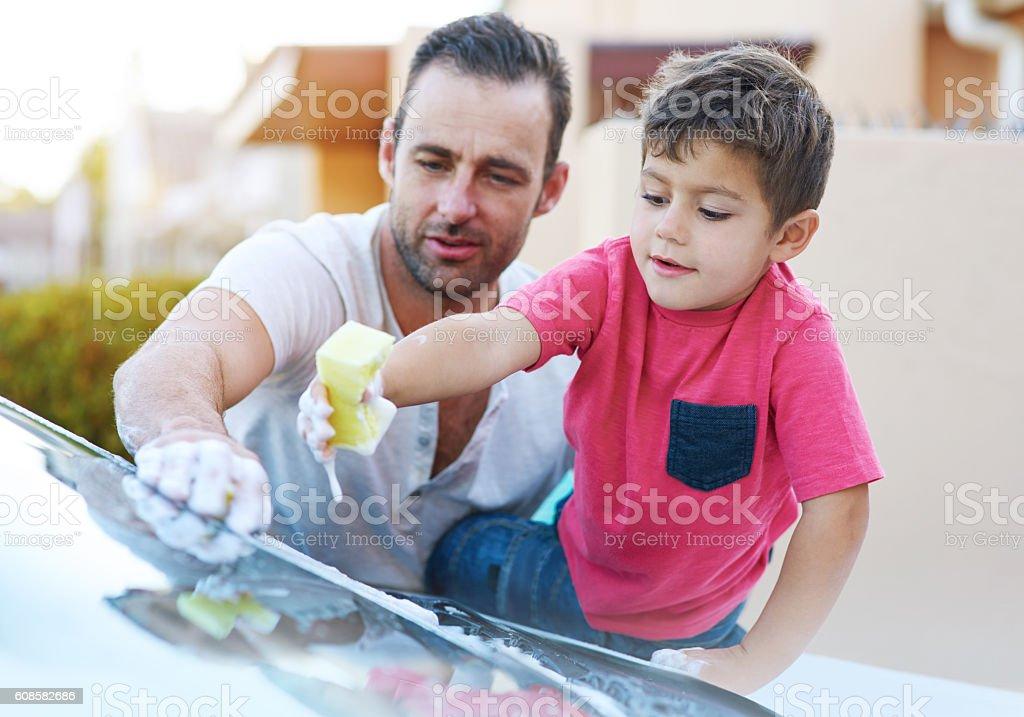 Wie der Vater, so der Sohn  – Foto