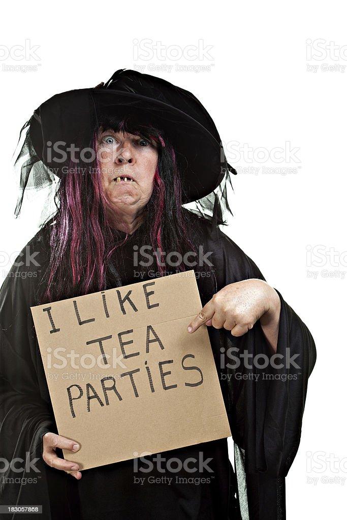 I like tea parties. royalty-free stock photo