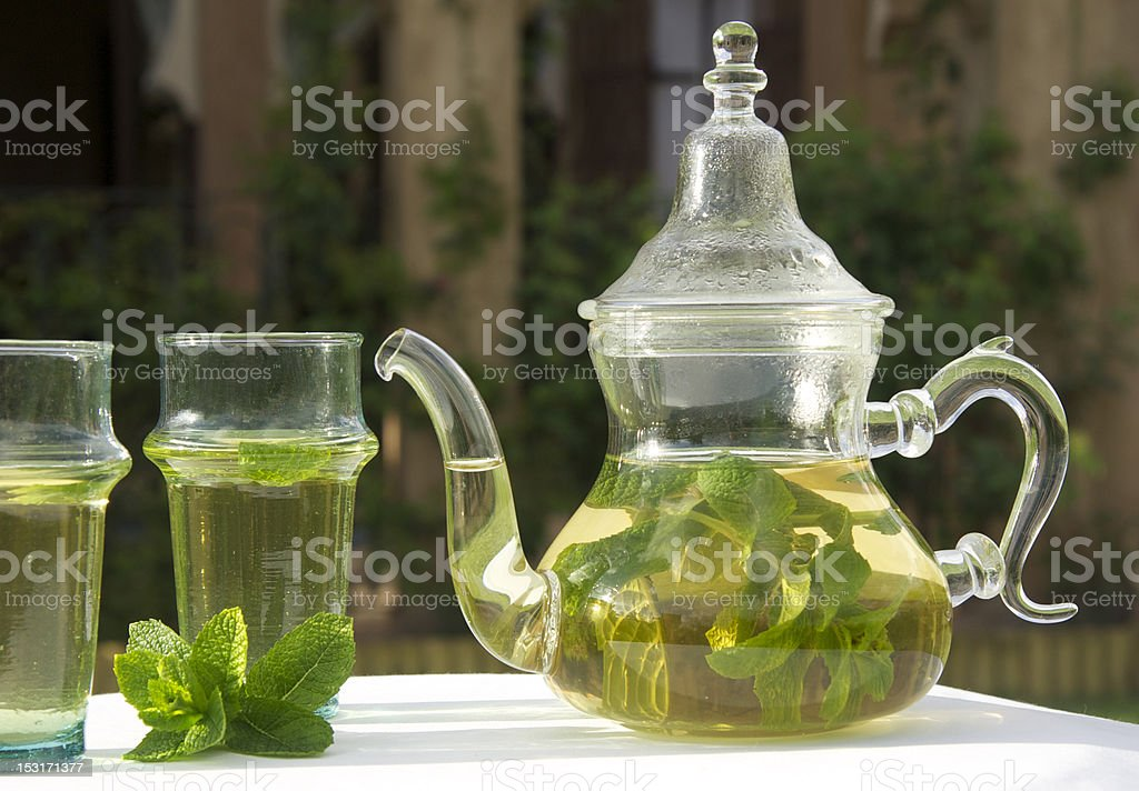 thé menthe royalty-free stock photo