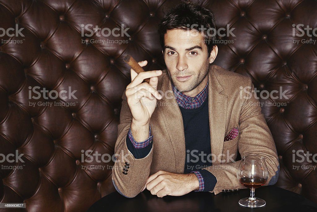 I like the finer things in life stock photo