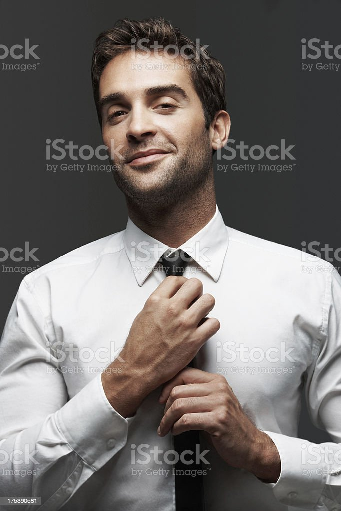 I like to look my best stock photo