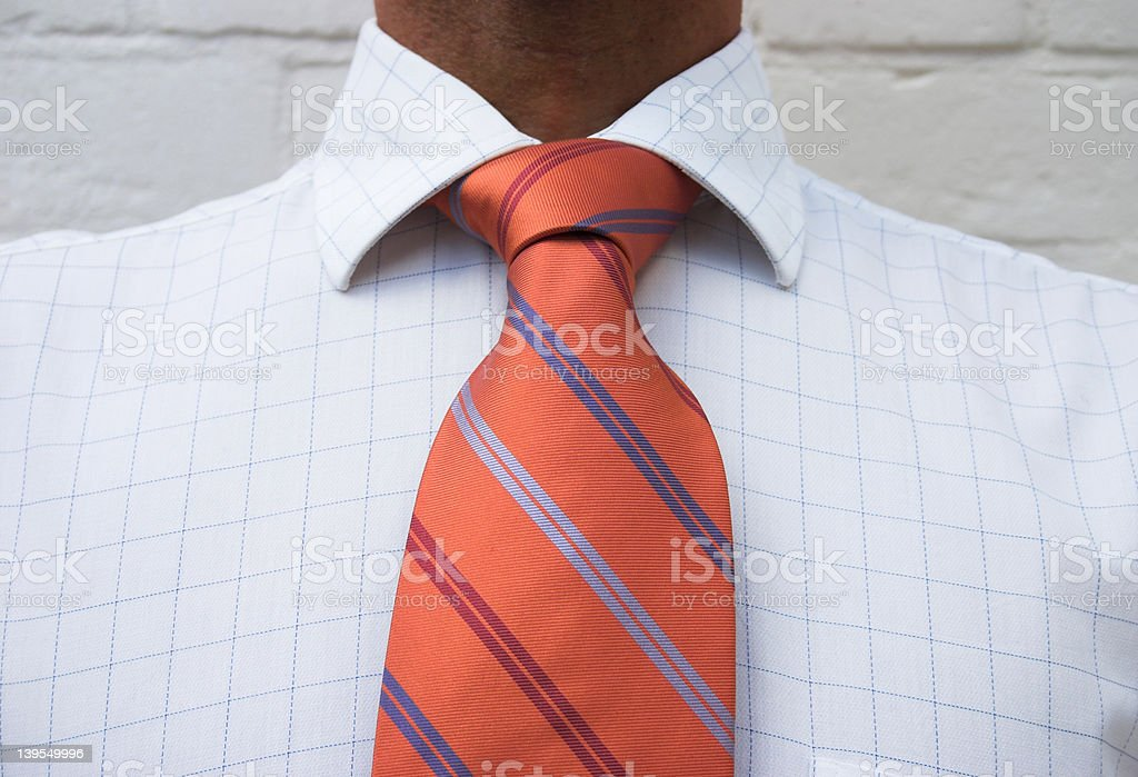 I like your tie!!! royalty-free stock photo