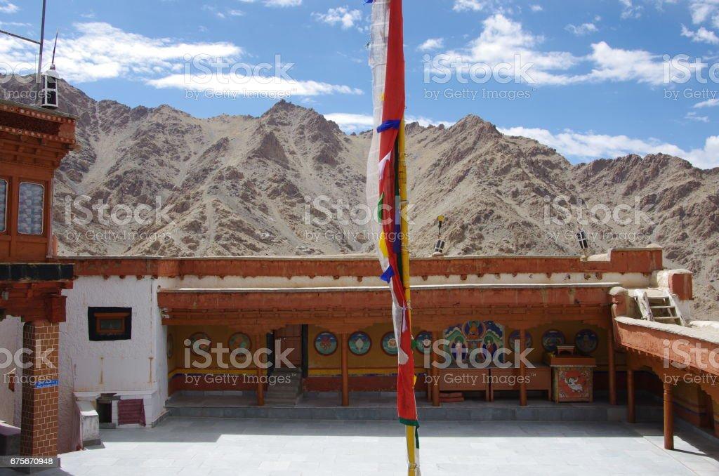 Likir monastery in Ladakh, India foto de stock royalty-free