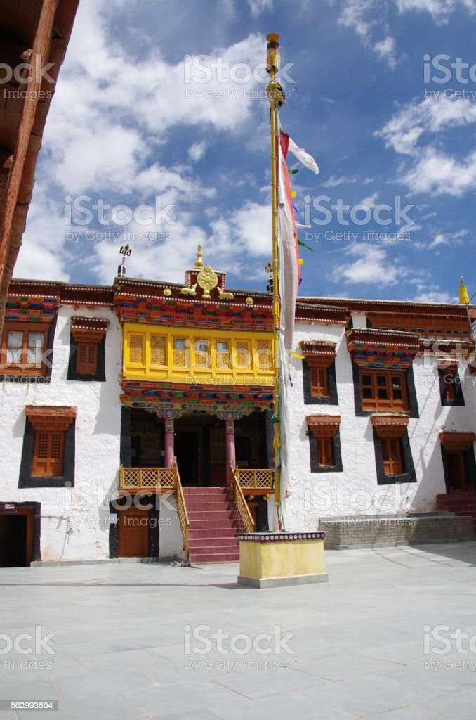 Likir monastery in Ladakh, India royalty-free stock photo