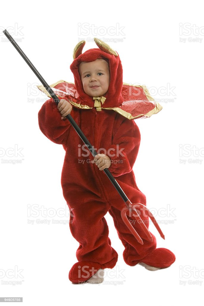 Lil' Devil royalty-free stock photo