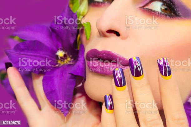 Lilac summer makeup and manicure picture id827126070?b=1&k=6&m=827126070&s=612x612&h=nnnpicp21jkurpwt77vqfh2hb7ypahyaimohiximp5u=