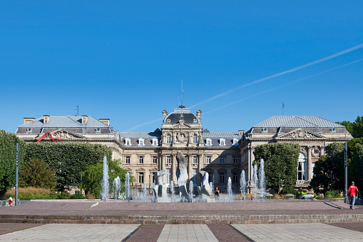 Lille Palace Of Fine Arts Stock Photo - Download Image Now