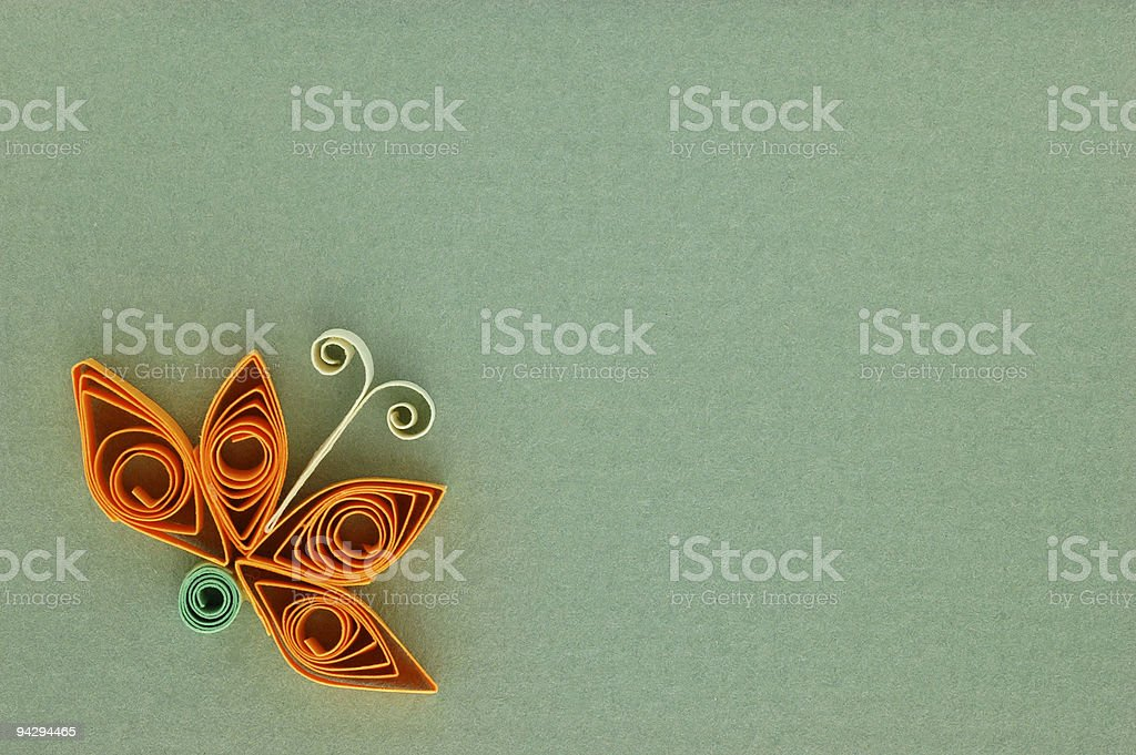 Lily notecard royalty-free stock photo