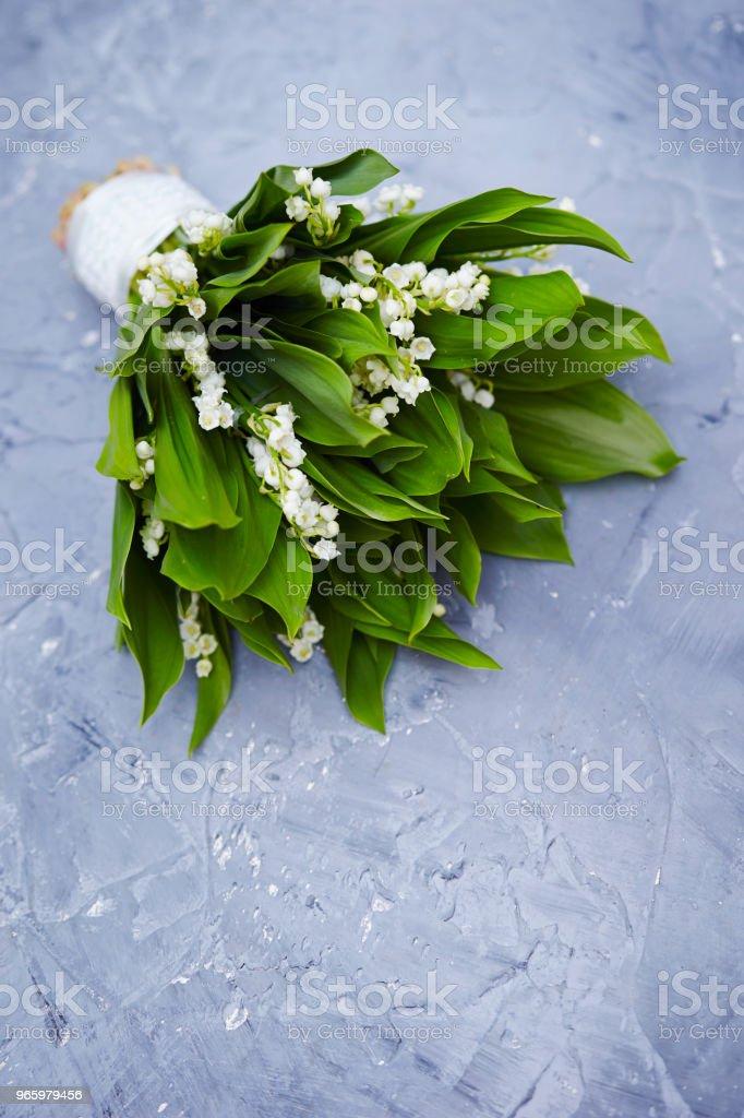 Lily des valley - Lizenzfrei Baumblüte Stock-Foto