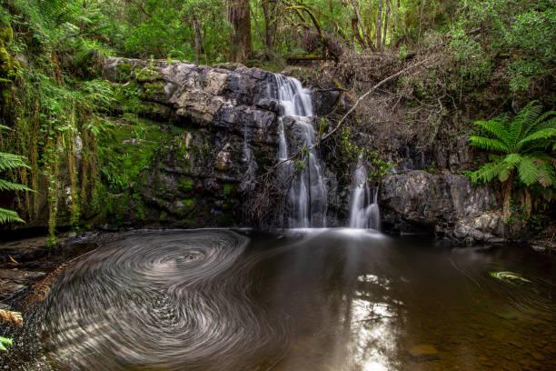 Lilydale Falls - Launceston, Tasmania stock photo