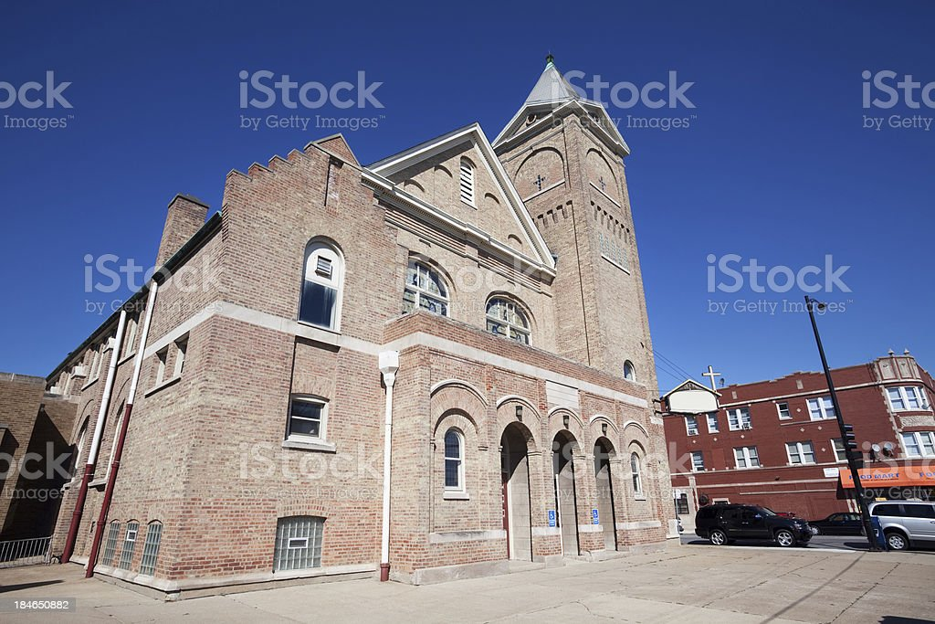 Lilydale Progressive Missionary Baptist Church in Roseland, Chic royalty-free stock photo