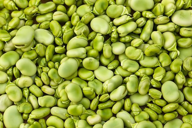Lima beans background stock photo