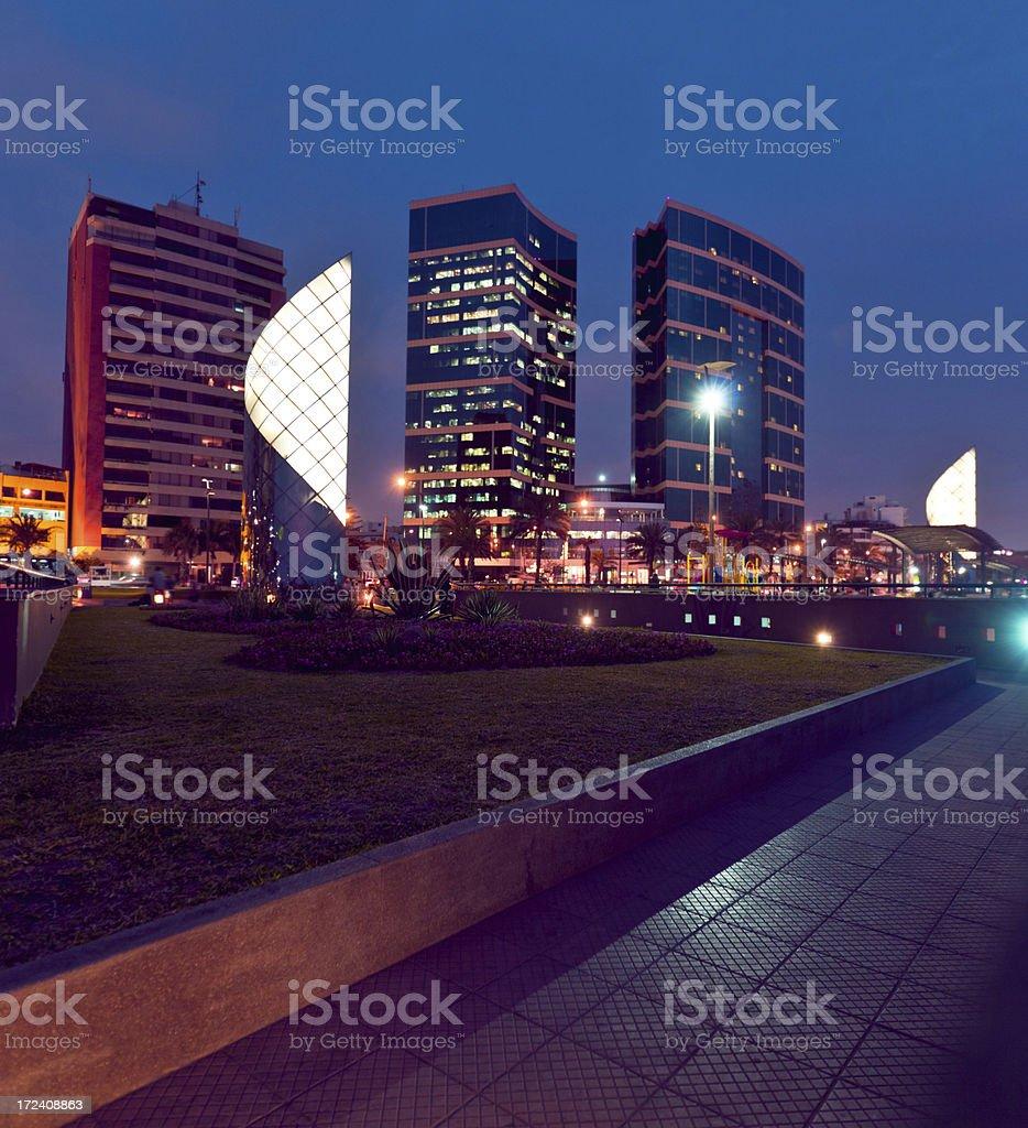 Lima by Night stock photo