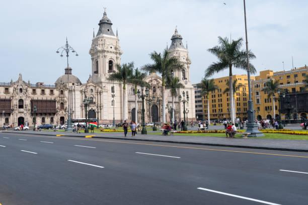 Lima-Kathedrale im Stadtzentrum – Foto