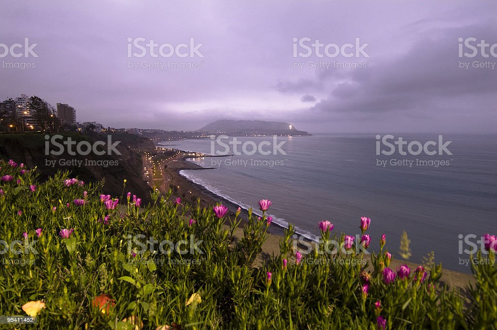 Lima-Miraflores Lizenzfreies stock-foto