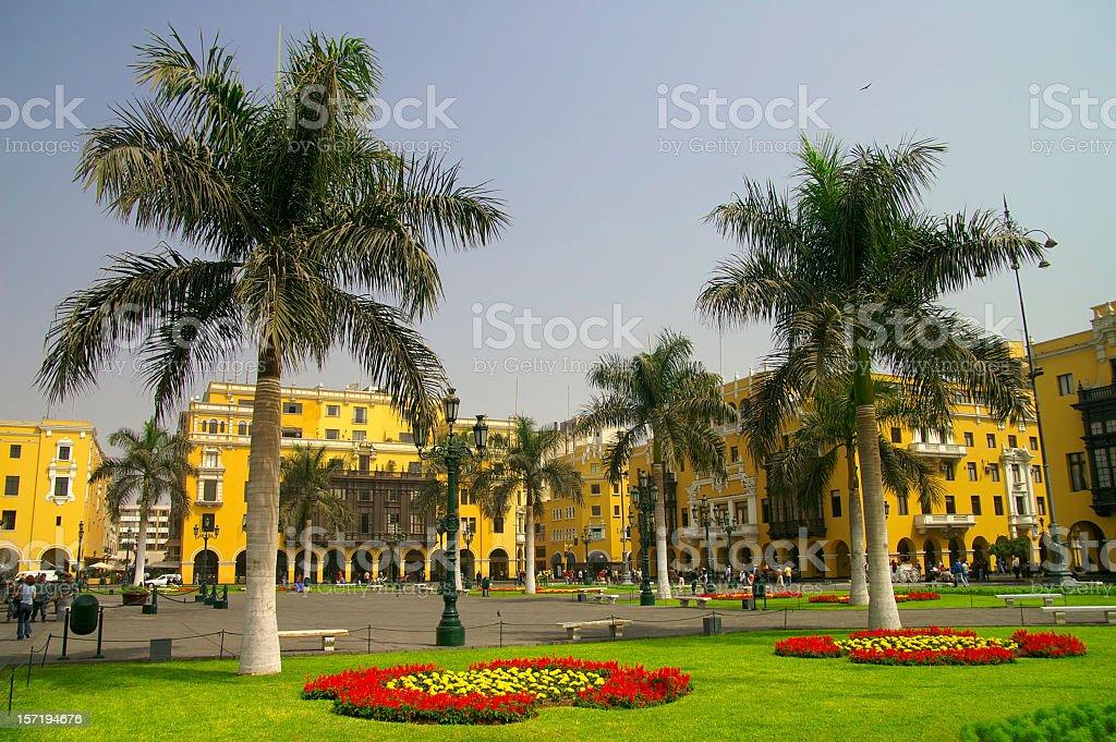 Lima stock photo