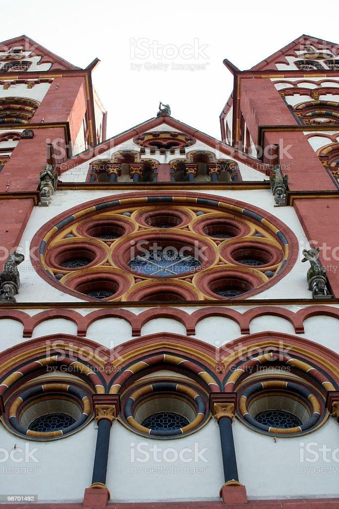 Limburg Church royalty-free stock photo
